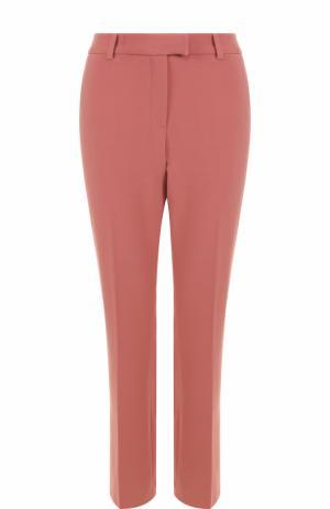 Укороченные расклешенные брюки со стрелками Paul&Joe. Цвет: розовый