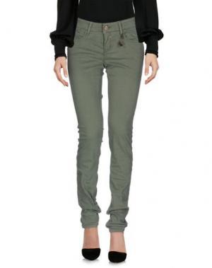 Повседневные брюки BOSS ORANGE. Цвет: зеленый