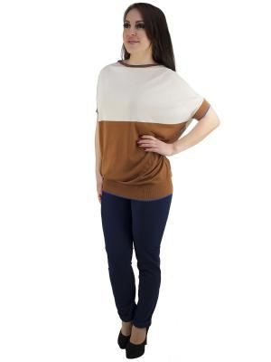 Блузка OROBLU. Цвет: светло-коричневый, бежевый