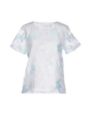 Блузка ANONYME DESIGNERS. Цвет: белый