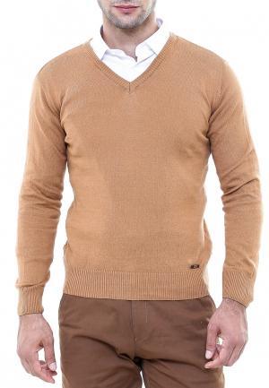Пуловер Wessi. Цвет: коричневый