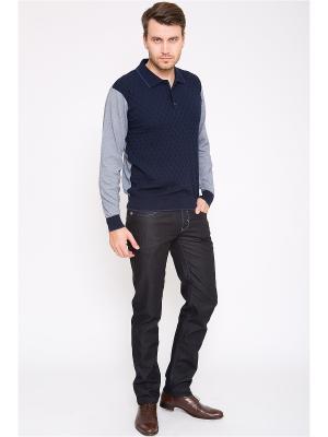 Пуловер CUDGI. Цвет: синий