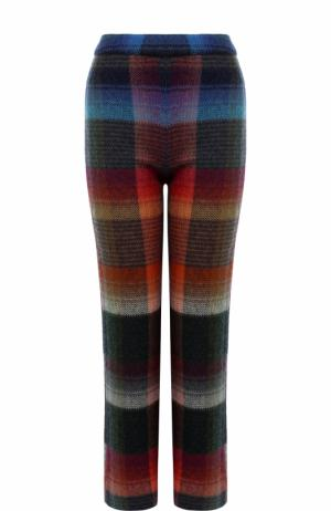 Укороченные расклешенные брюки с принтом Missoni. Цвет: разноцветный