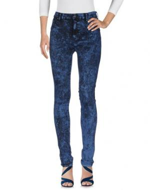 Джинсовые брюки DR. DENIM JEANSMAKERS. Цвет: пастельно-синий