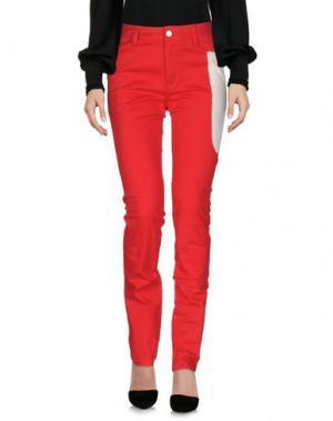 Повседневные брюки TSUMORI CHISATO. Цвет: красный