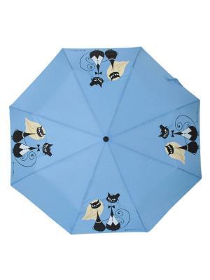 Зонт Flioraj. Цвет: голубой