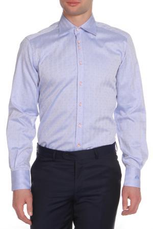 Рубашка Otto Kern. Цвет: голубой