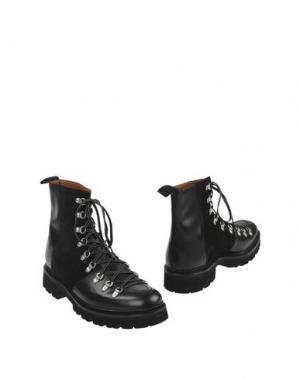 Полусапоги и высокие ботинки GRENSON. Цвет: черный