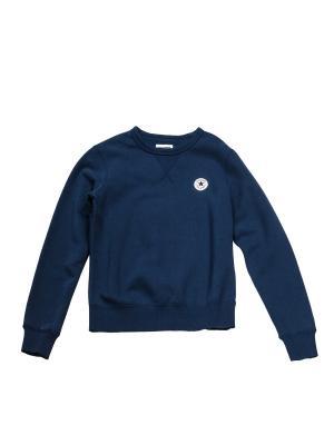 Свитшот Core Crew Sweatshirt Converse. Цвет: синий