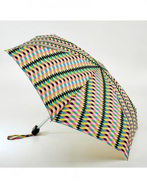 Зонт механический Милан  by Fulton Lulu Guinness. Цвет: multicolor