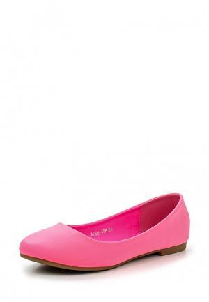 Балетки Moda Alice. Цвет: розовый