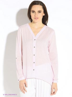 Блуза b.young. Цвет: розовый