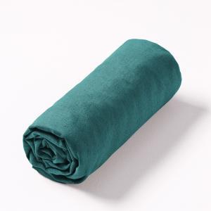 Простыня натяжная льняная Elina AM.PM.. Цвет: антрацит,белый,бледно-розовый,желтый карри,лаймовый,розовый малиновый,розовый,светло-синий,серо-бежевый,серый,синий индиго,синий,темно-бирюзовый,темно-зеленый,тыквенный,цвет неокрашенного льна,ягодный