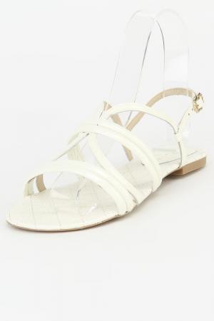Туфли летние открытые Capodarte. Цвет: белый