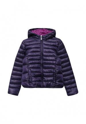 Куртка утепленная Blukids. Цвет: фиолетовый