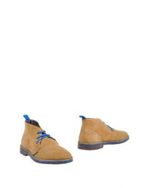 Полусапоги и высокие ботинки SUBMARINE. Цвет: песочный