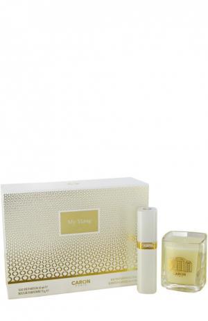 Набор: парфюмерная вода My Ylang + свеча Caron. Цвет: бесцветный