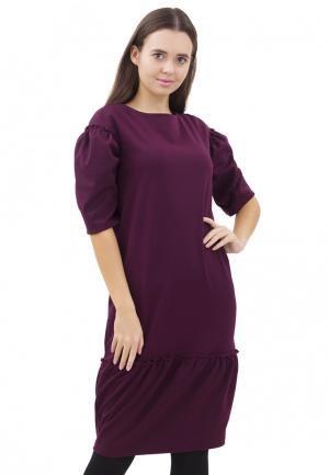 Платье Doctor E. Цвет: бордовый