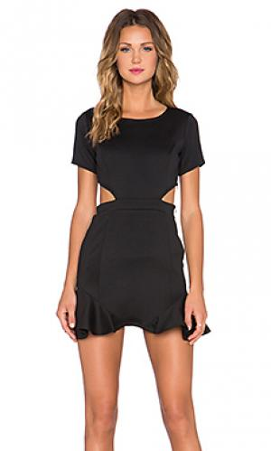 Платье eternal Lovers + Friends. Цвет: черный