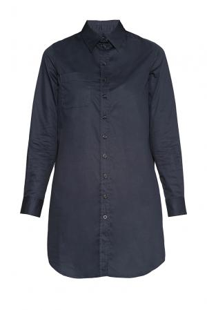 Рубашка-туника из хлопка 173138 Cyrille Gassiline. Цвет: синий