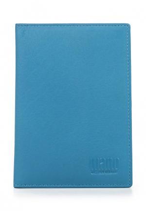 Обложка для документов Mano. Цвет: голубой
