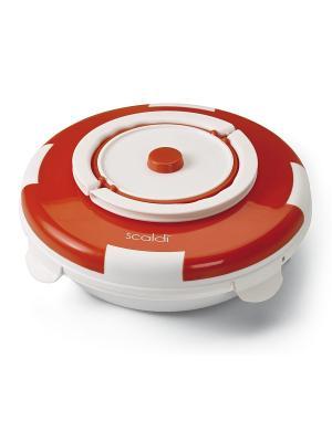 Прибор для разогрева еды 799 SCALDI, 105 Вт ariete. Цвет: оранжевый