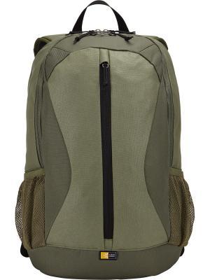 Рюкзак Case Logic Ibira для ноутбука 15.6 (IBIR-115-PETROL). Цвет: зеленый