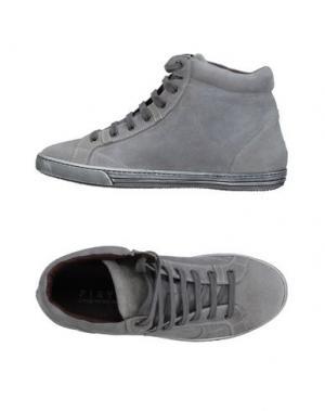Высокие кеды и кроссовки PLAYHAT. Цвет: светло-серый