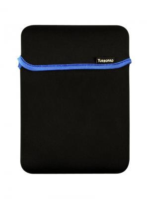 Чехол для планшетного компьютера 7-8 двусторонний (черный-синий) TurboPad. Цвет: черный, синий