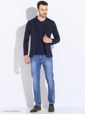 Куртка Sisley. Цвет: синий, голубой