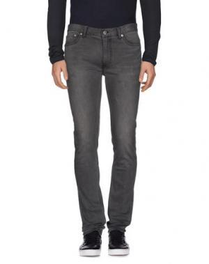 Джинсовые брюки BLK DNM. Цвет: свинцово-серый