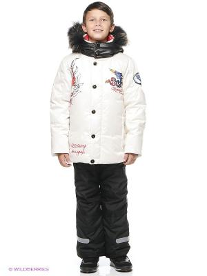 Куртка RadRada. Цвет: молочный