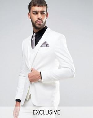Noak Супероблегающий пиджак. Цвет: stone