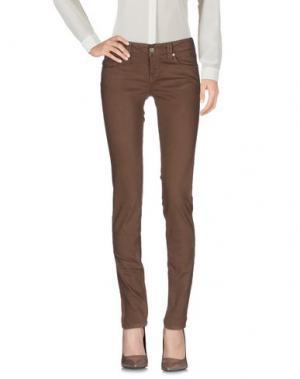 Повседневные брюки TRAMAROSSA. Цвет: какао