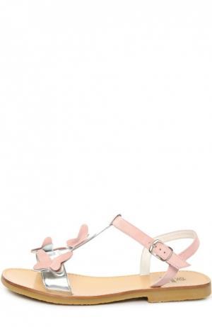 Сандалии Equerry. Цвет: розовый