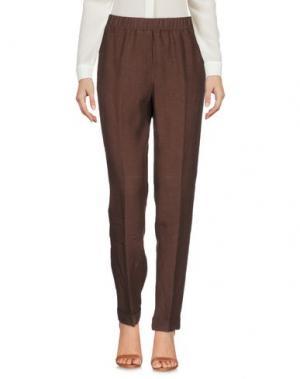 Повседневные брюки ROSSO35. Цвет: какао