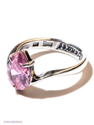 Кольцо Jenavi. Цвет: розовый, серебристый