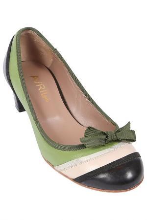 Туфли Avril Gau. Цвет: зеленый