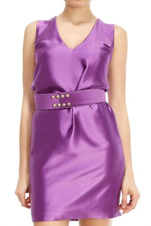 Платье Fausto Puglisi. Цвет: фиолетовый