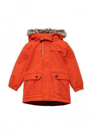 Куртка утепленная Lassie. Цвет: коралловый