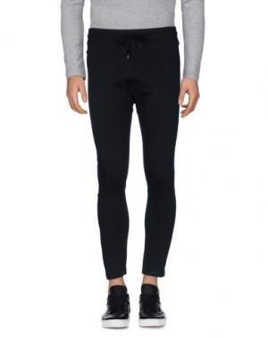 Повседневные брюки ODEUR. Цвет: черный