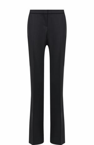 Расклешенные брюки со стрелками BOSS. Цвет: серый