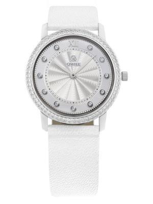 Часы ювелирные коллекция Q-Style, QWILL, Часовой завод Ника QWILL. Цвет: серебристый
