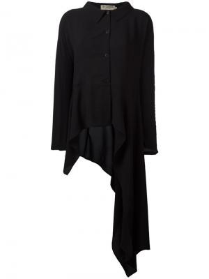 Асимметричная рубашка Ivan Grundahl. Цвет: чёрный