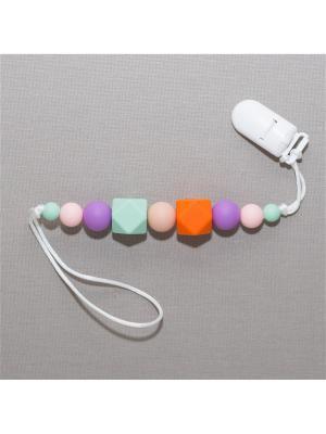 Игрушка-подвеска Краски лета. Цвет: серо-зеленый, бледно-розовый, оранжевый, фиолетовый