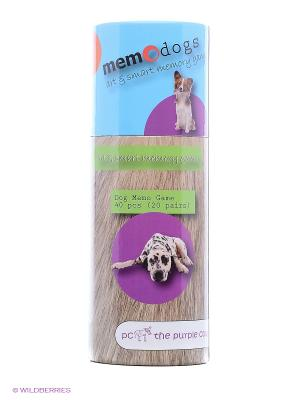 Игра для развития памяти - Собаки THE PURPLE COW. Цвет: голубой