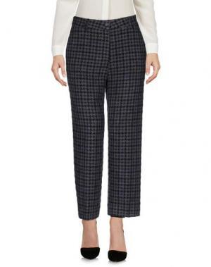 Повседневные брюки VIA MASINI 80. Цвет: свинцово-серый