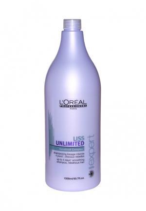 Шампунь для непослушных волос LOreal Professional L'Oreal. Цвет: фиолетовый
