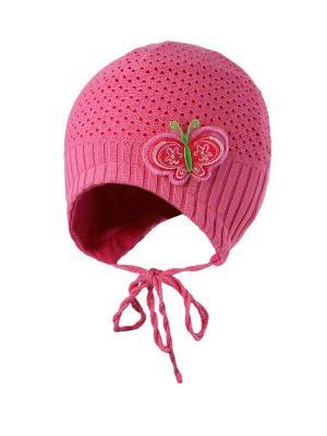 Шапка Kolad. Цвет: розовый, светло-зеленый