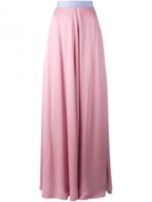 Длинная юбка Roksanda. Цвет: розовый и фиолетовый